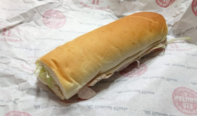 Jimmy John's Turkey Tom with Cheese Sandwich Review