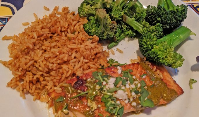 Chili's Ancho Salmon Review