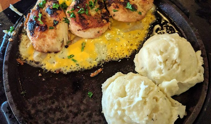 T.G.I. Fridays Sizzling Chicken & Cheese Review